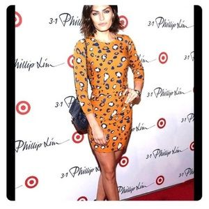 3.1 Phillip Lim for Target leopard dress